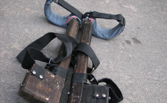 Сделать строительные ходули своими руками 21